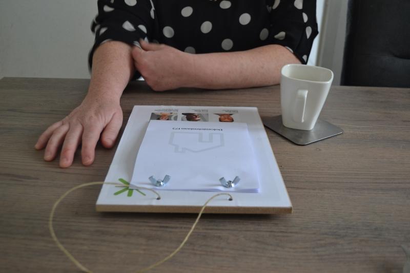 Scheurkalender op tafel